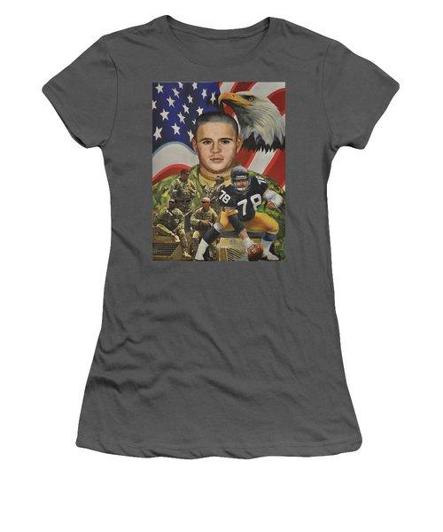 Big Tuna Women's T-Shirt (Junior Cut) by Ken Pridgeon