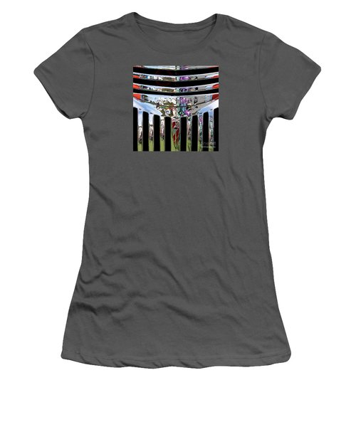 Chevrolet Grille 03 Women's T-Shirt (Junior Cut) by Rick Piper Photography