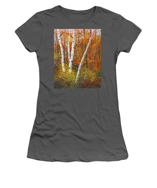 Birches Women's T-Shirt (Athletic Fit)