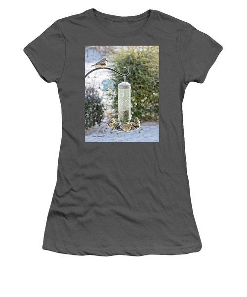 Bird Breakfast Women's T-Shirt (Athletic Fit)