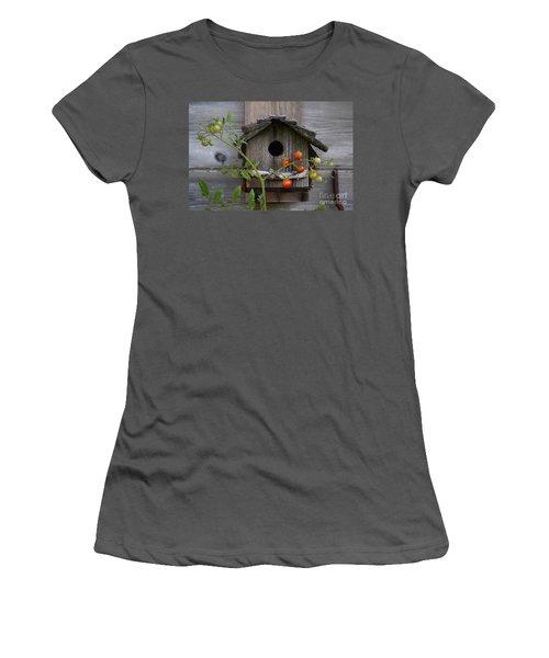 Birdhouse Women's T-Shirt (Athletic Fit)