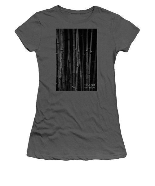Black Bamboo Women's T-Shirt (Athletic Fit)