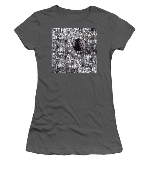 Women's T-Shirt (Junior Cut) featuring the photograph Black Christmas by Ulrich Schade