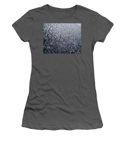 Black Ice Women's T-Shirt (Athletic Fit)