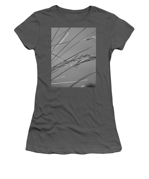 Blades Of Gray Women's T-Shirt (Athletic Fit)