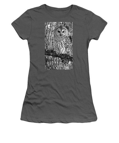 Blending In - 365-187 Women's T-Shirt (Junior Cut) by Inge Riis McDonald