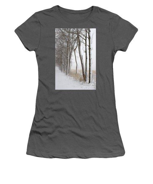 Blizzard Path Women's T-Shirt (Athletic Fit)