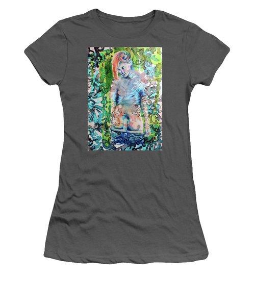 Blond Boy Version 3 Women's T-Shirt (Athletic Fit)