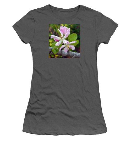 Blossom Duet Women's T-Shirt (Athletic Fit)