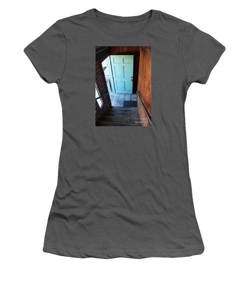 Blue Door Women's T-Shirt (Athletic Fit)