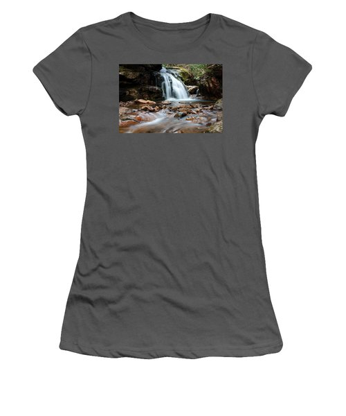 Women's T-Shirt (Junior Cut) featuring the photograph Blue Hole In Spring #3 by Jeff Severson