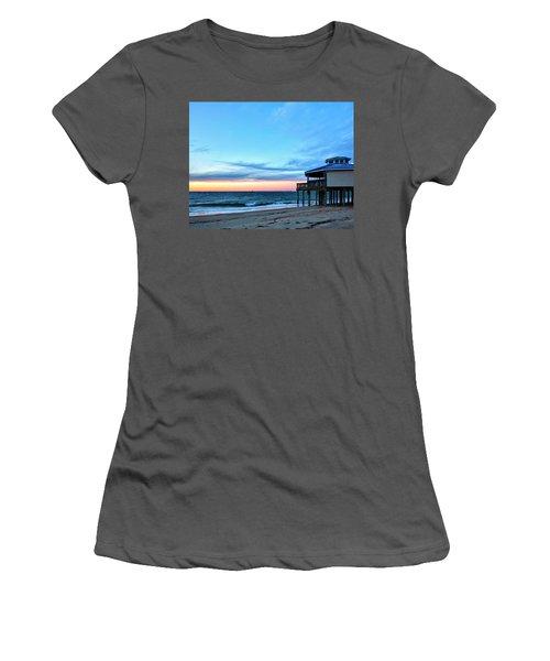 Blue Hour Women's T-Shirt (Athletic Fit)