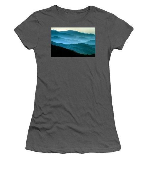Blue Ridges Women's T-Shirt (Athletic Fit)