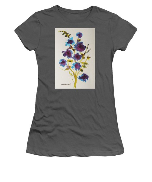 Blue Spring Women's T-Shirt (Athletic Fit)