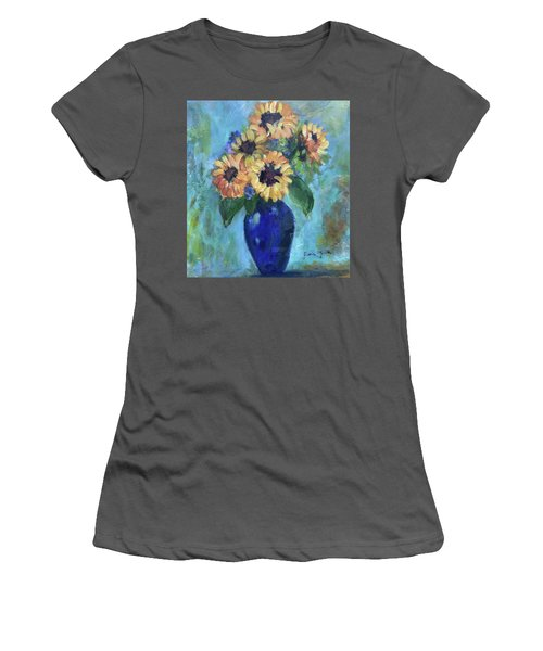 Blue Vase Women's T-Shirt (Athletic Fit)
