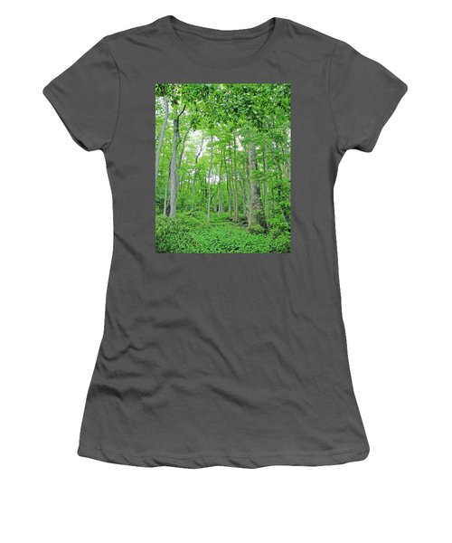 Blueboonet Swamp Baton Rouge La Women's T-Shirt (Athletic Fit)