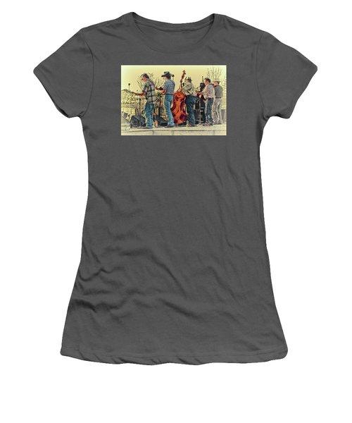 Bluegrass Evening Women's T-Shirt (Athletic Fit)