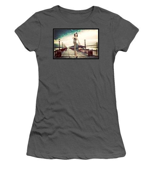 Boardwalk 1920 Women's T-Shirt (Athletic Fit)