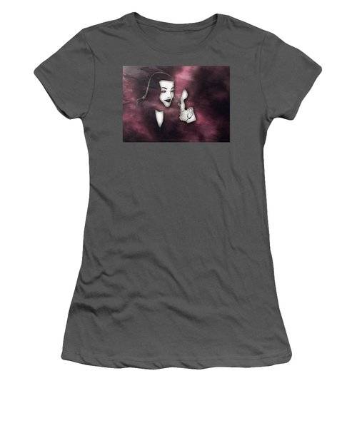 Bogart And Bacall Women's T-Shirt (Athletic Fit)