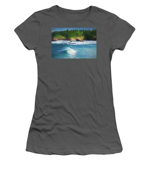 Boiler Bay Blues Women's T-Shirt (Athletic Fit)