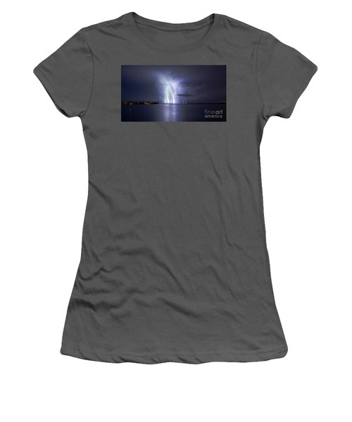 Bokeelia Nights Women's T-Shirt (Athletic Fit)