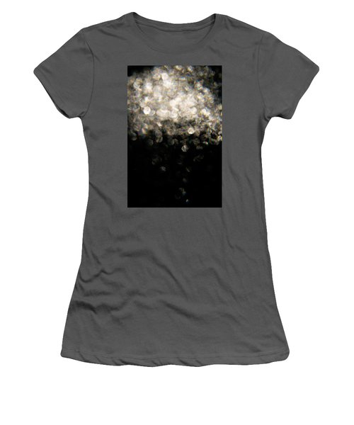Women's T-Shirt (Athletic Fit) featuring the photograph Bokeh Cloud by Greg Collins