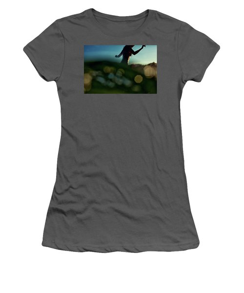 Bokeh Women's T-Shirt (Athletic Fit)