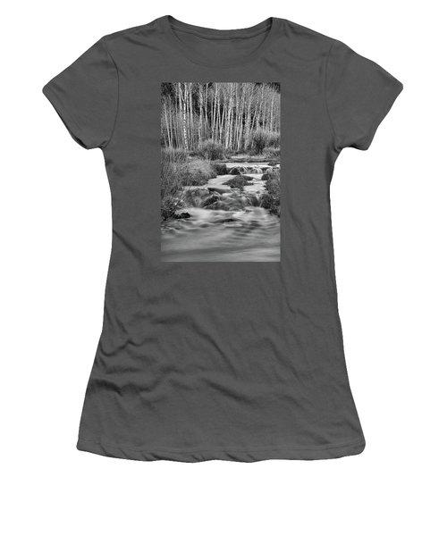 Bonanza Streaming Women's T-Shirt (Junior Cut) by James BO Insogna
