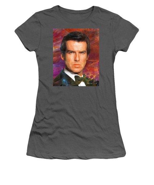 Bond - James Bond 5 Women's T-Shirt (Junior Cut) by John Robert Beck