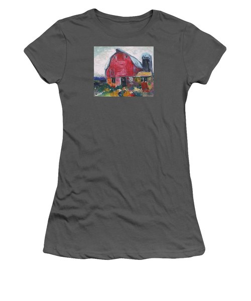Boompa's Barn Women's T-Shirt (Athletic Fit)