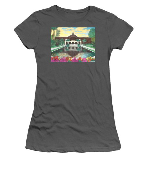 Botanical Building In Balboa Park 01 Women's T-Shirt (Athletic Fit)