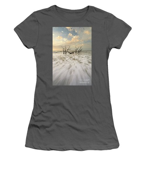 Botany Bay In South Carolina Women's T-Shirt (Athletic Fit)