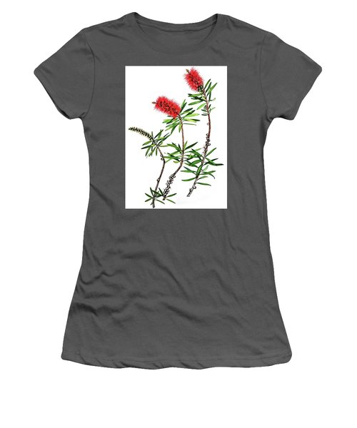 Bottle Brush Women's T-Shirt (Athletic Fit)