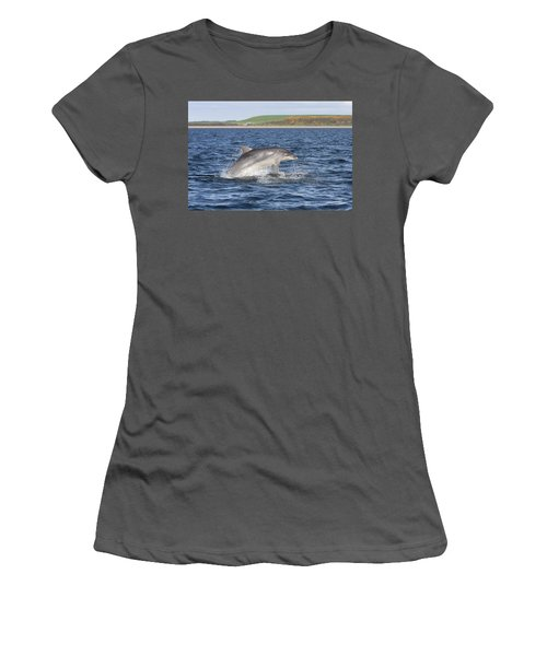 Bottlenose Dolphin - Scotland  #32 Women's T-Shirt (Athletic Fit)