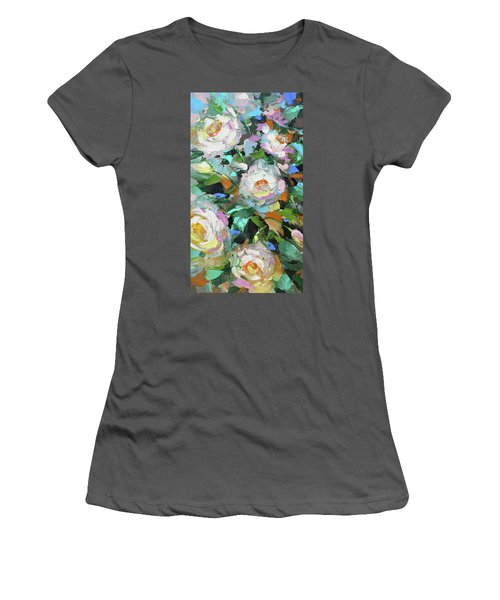 Bouquet Of Peonies  Women's T-Shirt (Athletic Fit)