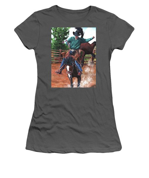 Braking Stock Women's T-Shirt (Athletic Fit)