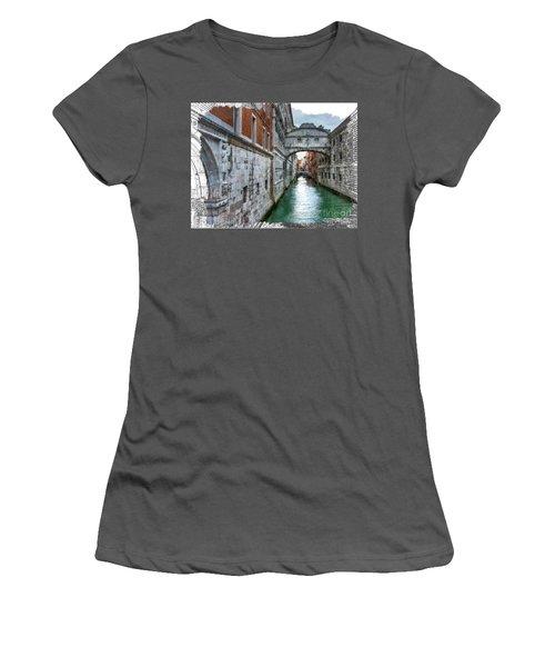 Bridge Of Sighs Women's T-Shirt (Junior Cut) by Tom Cameron