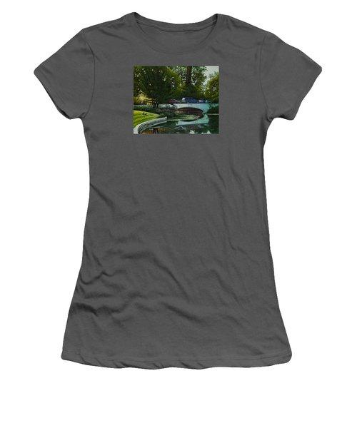 Bridges Of Forest Park V Women's T-Shirt (Athletic Fit)