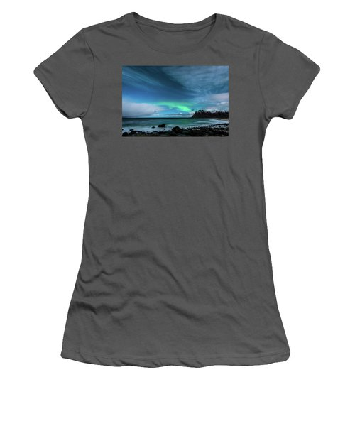 Women's T-Shirt (Athletic Fit) featuring the photograph Bright Night by Alex Lapidus
