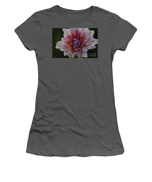 Brilliance Of A Dahlia Women's T-Shirt (Athletic Fit)