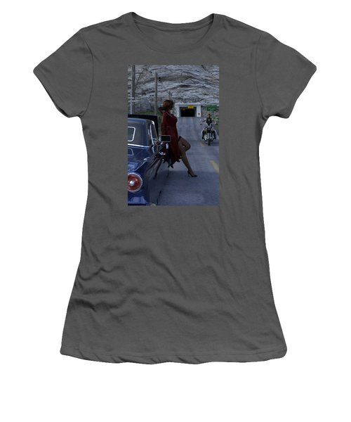 Broken Down Women's T-Shirt (Athletic Fit)