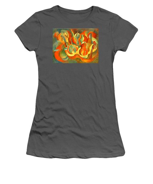 Broken Fiddle Women's T-Shirt (Athletic Fit)