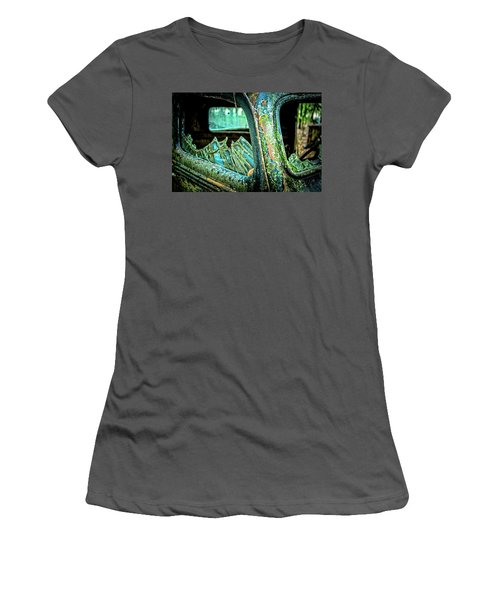 Broken Glass Women's T-Shirt (Athletic Fit)