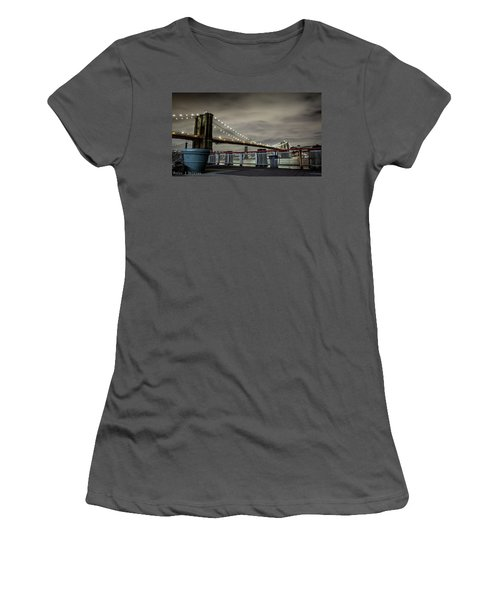 Brooklyn Manhattan Dockside Women's T-Shirt (Athletic Fit)