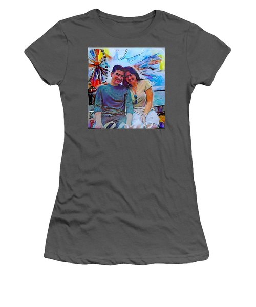 Brother And Sister Love Women's T-Shirt (Athletic Fit)