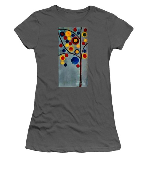 Bubble Tree - Dps02c02f - Left Women's T-Shirt (Athletic Fit)