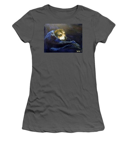 Buddy Rest In Peace Women's T-Shirt (Athletic Fit)