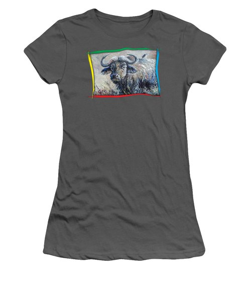 Buffalo And Bird Women's T-Shirt (Athletic Fit)
