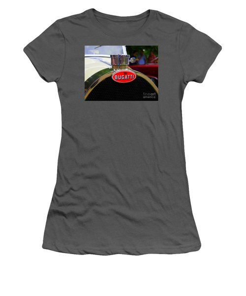 Bugatti Red Women's T-Shirt (Athletic Fit)