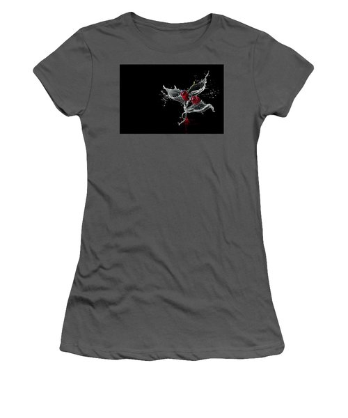 Bunch Of Water Flowers Women's T-Shirt (Athletic Fit)